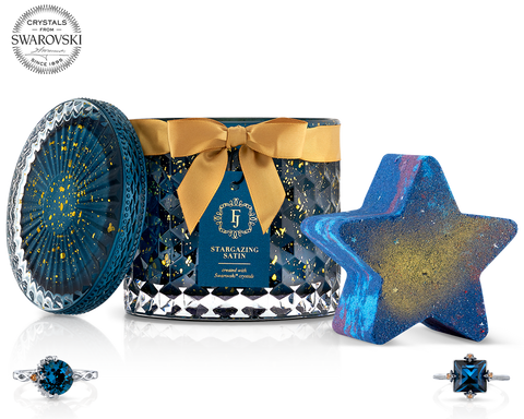 Stargazing - Satin Collection - Candle and Bath Bomb Set - Inner Circle