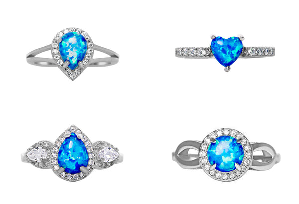 Starry Night Sapphire Ring Collection