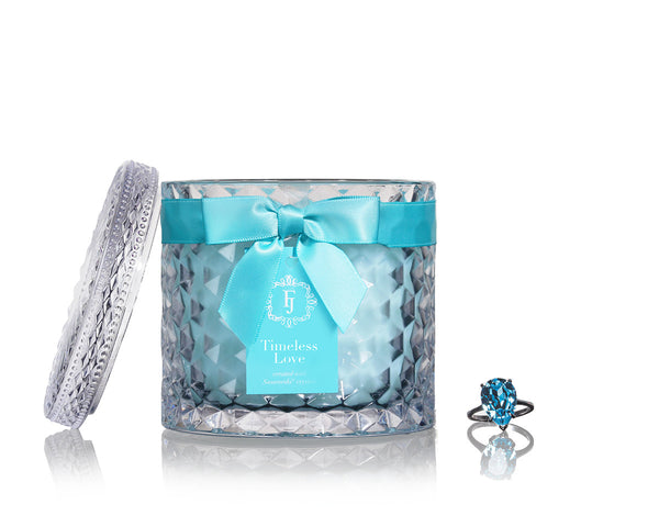 Timeless Love - Infinity Collection Jewel Candle with Swarovski Crystals