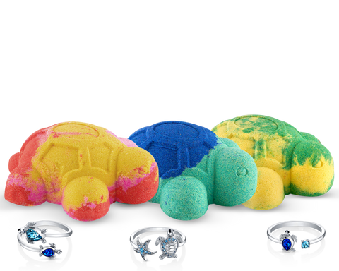 The Turtle Package - Bath Bomb Trio - Inner Circle