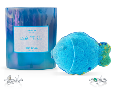 Under The Sea - Candle and Bath Bomb Set - Inner Circle
