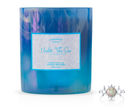 Under The Sea - Jewel Candle