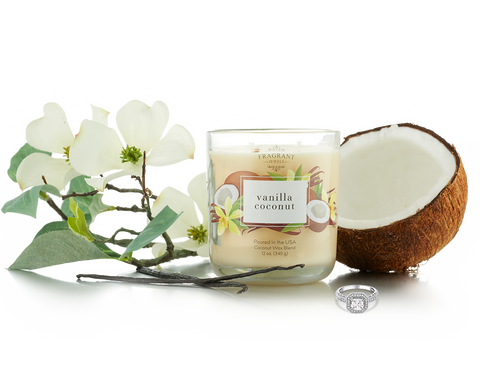 Vanilla Coconut - Jewel Candle