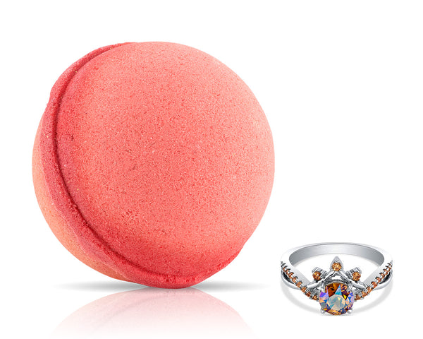 Wanderlust Bath Bomb with Swarovski Ring