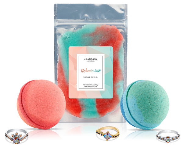 Wanderlust - Bath and Body Trio