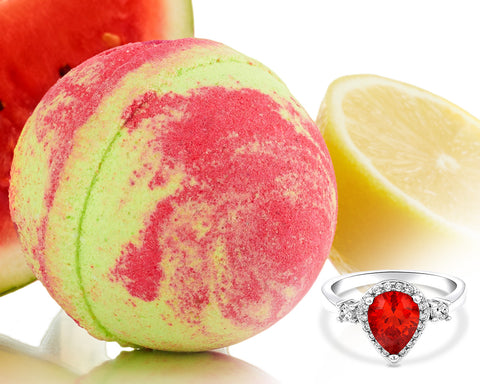 Watermelon Lemonade - Jewel Bath Bomb