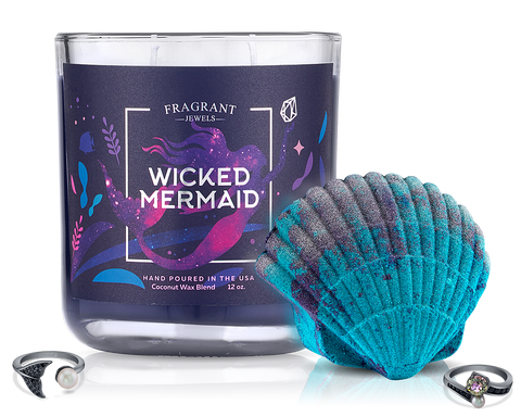 Wicked Mermaid - Candle and Bath Bomb Set - Inner Circle