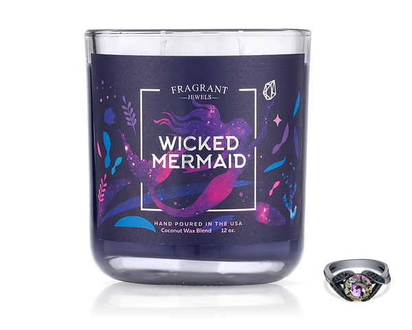 Wicked Mermaid - Jewel Candle