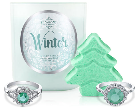 Winter 2018 - Candle and Bath Bomb Set