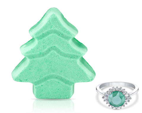 Snow Candle Bath Bomb Gift Set Rings