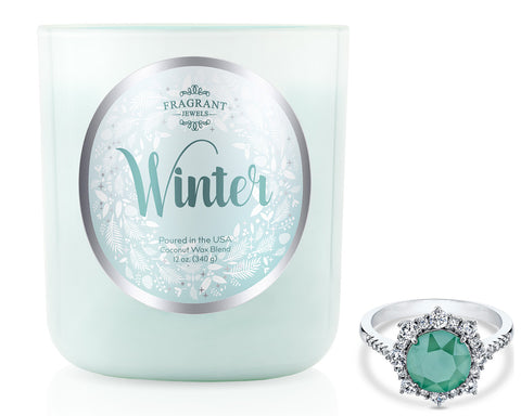 Winter 2018 - Jewel Candle