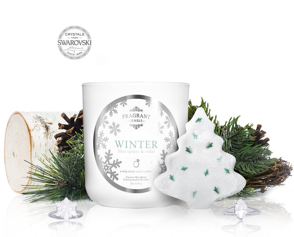 Winter - Candle & Bath Bomb Gift Set