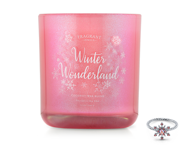 Winter Wonderland - Jewel Candle
