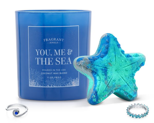 You, Me & The Sea - Candle and Bath Bomb Set