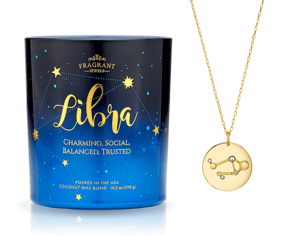 Libra - Zodiac Collection - Jewel Candle