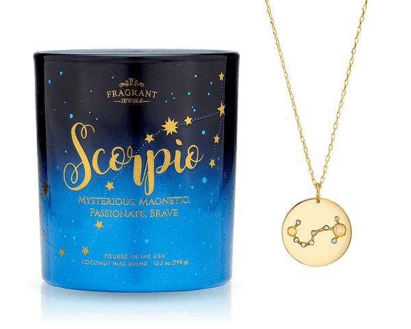 Scorpio - Zodiac Collection - Jewel Candle