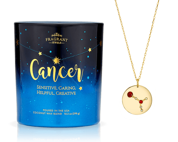 Cancer - Zodiac Collection - Jewel Candle