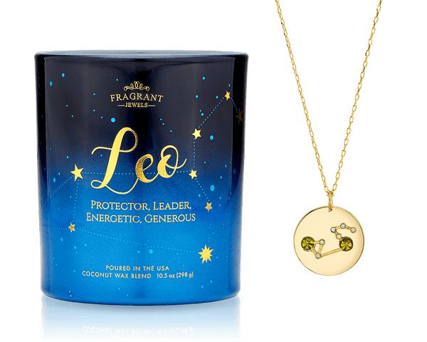 Leo - Zodiac Collection - Jewel Candle