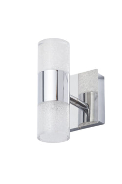 SPA-31730-CHR    OSLO  Led Crackle Wall Light