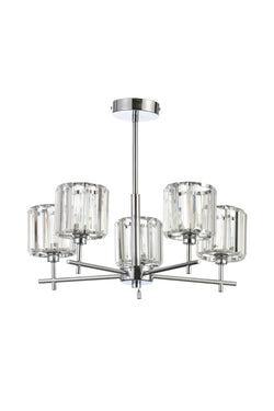 SPA-33930-CHR - Pegasi 5 Light Flush in Chrome Finish