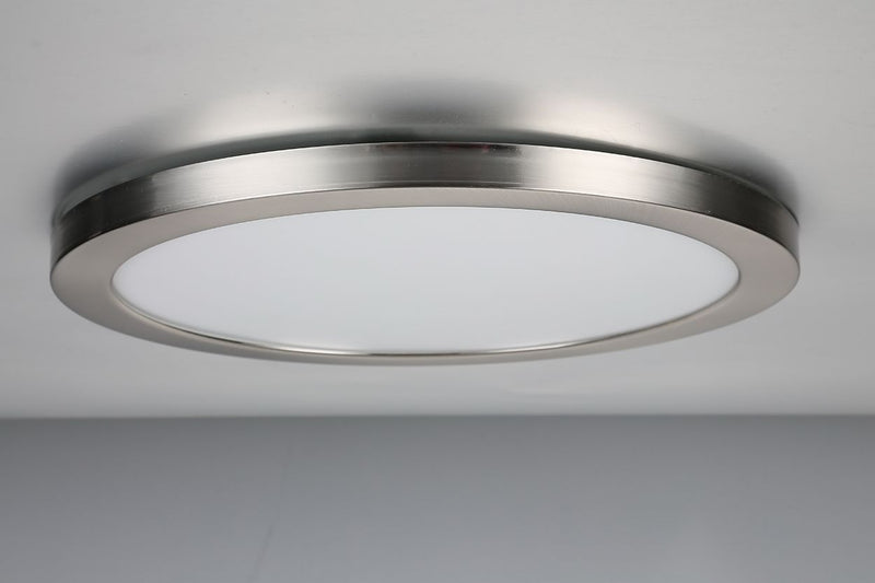 SPA-35719 - Tauri Magnetic Ring for 24W Panel in Satin Nickel Finish