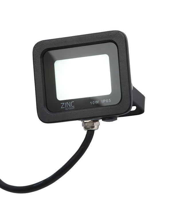 ZN-34354-BLK - Otley 10w Slimline LED Flood Blk