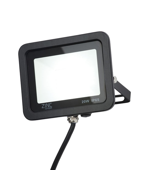ZN-34355-BLK - Otley 20w Slimline LED Flood Blk