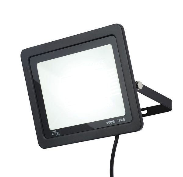 ZN-34358-BLK - Otley 100w Slimline LED Flood Blk
