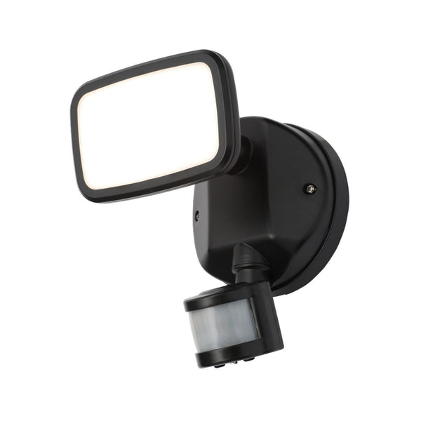 ZN-35687-BLK - Lynn PIR Security Spotlight in Black Finish
