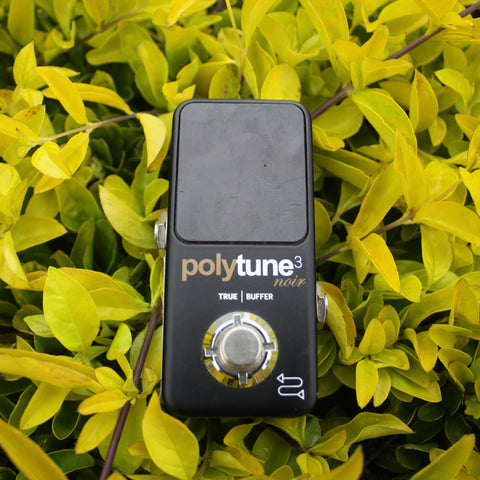 TC Electronic Polytune 3 Noir Polyphonic Tuner