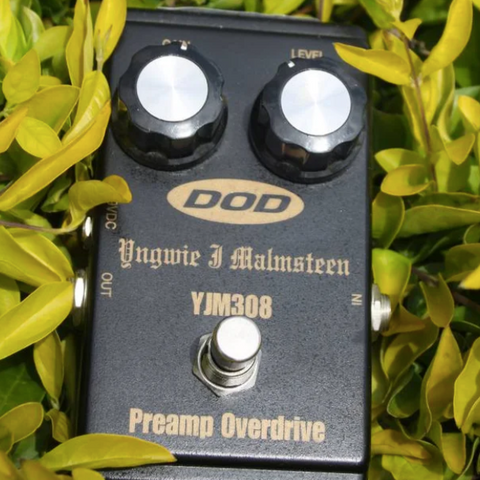 DOD YJM308 Yngwie J Malmsteen Preamp Overdrive Pedal