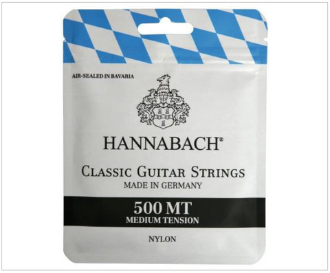 Hannabach 500MT Medium Tension Classical Guitar Strings