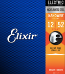 Elixir 12152 Nanoweb Electric Heavy 12-52 Gauge Guitar Strings