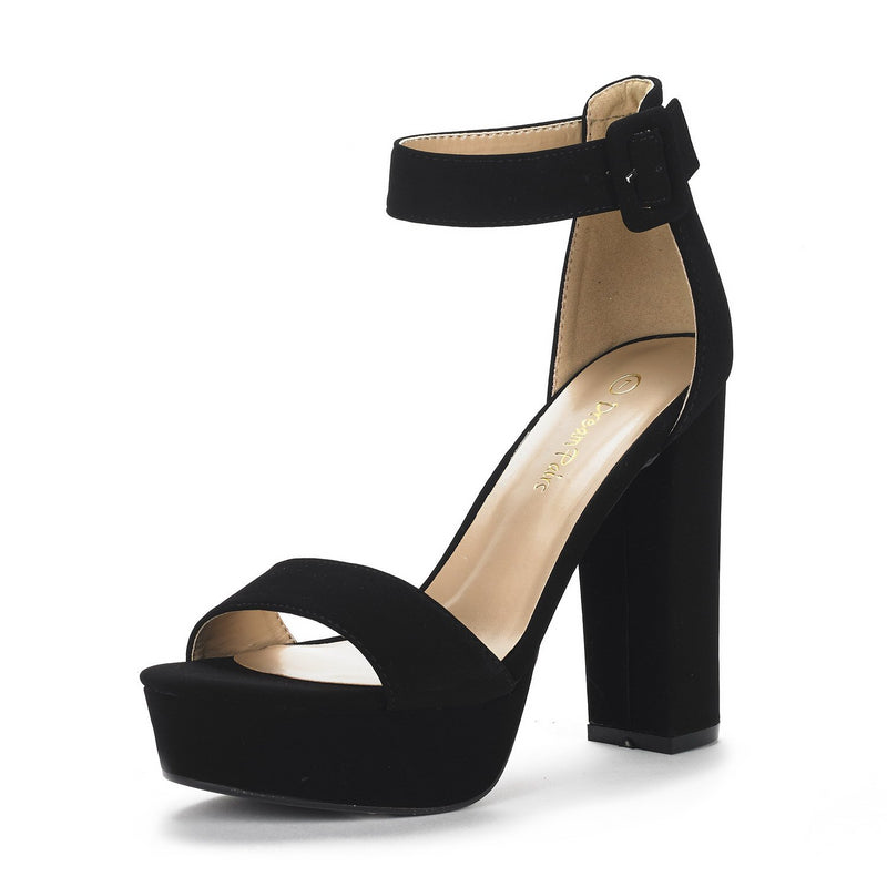 Women's Hi-Lo Heel Sandals