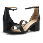 Women's LOW-CHUNK Heeled Sandals