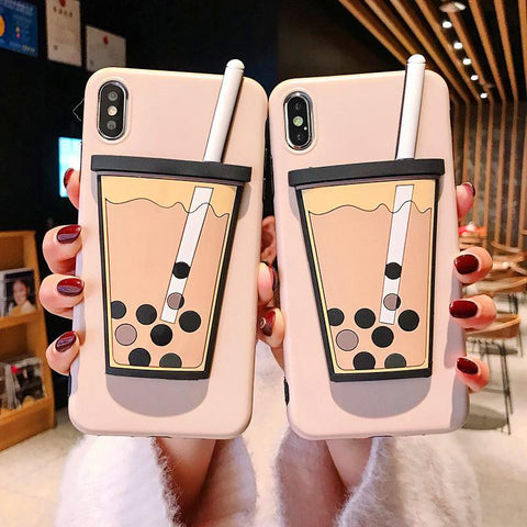 Bubble Tea Phone Case for iphone JF1028