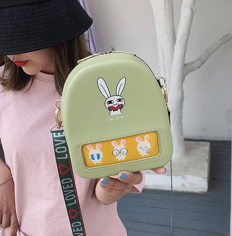 Cute Rabbit Shoulder Bag JF1010