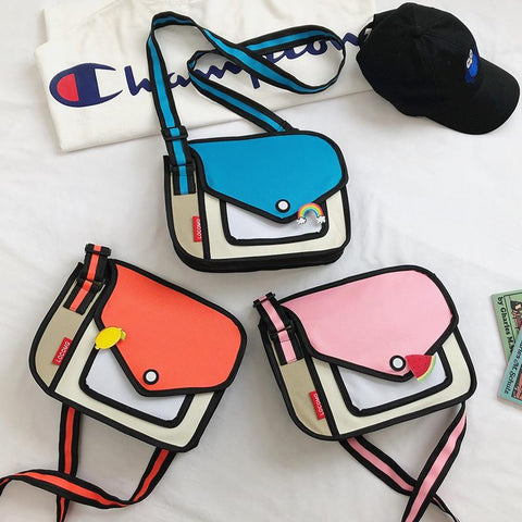 Fashion Girls Shoulder Bag JF1007