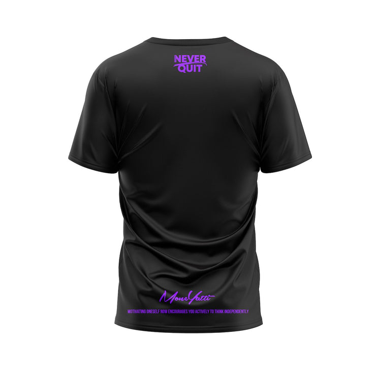 Moneyatti Goat Edition Black Purple T-shirt