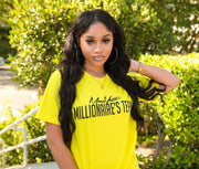 MoneYatti Millionaire Team Yellow  Women's T-Shirt - Hot Gear