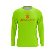 Moneyatti RL Collection Lime Green Women's Long sleeve T-shirt