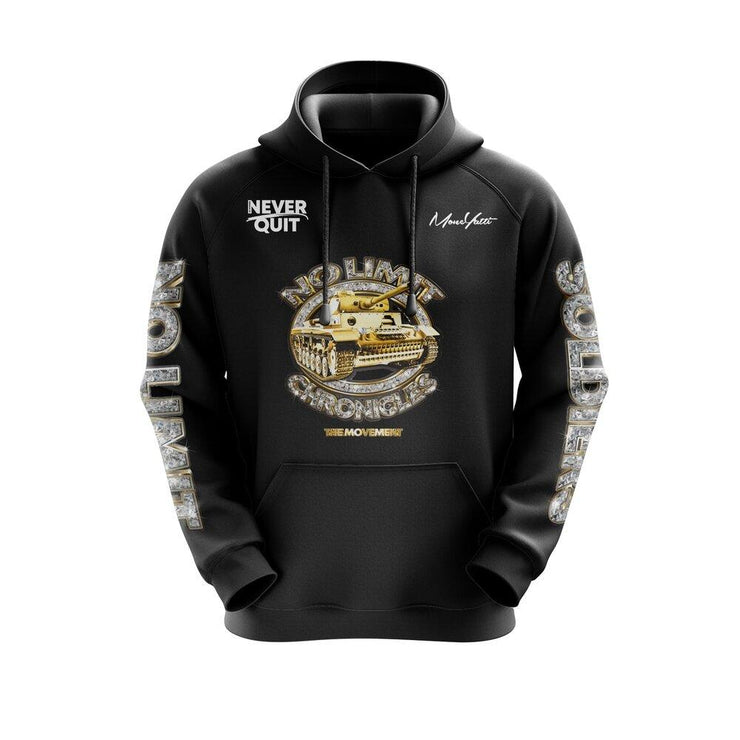 MoneYatti No Limit Chronicles Black Hoodie - Hot Gear