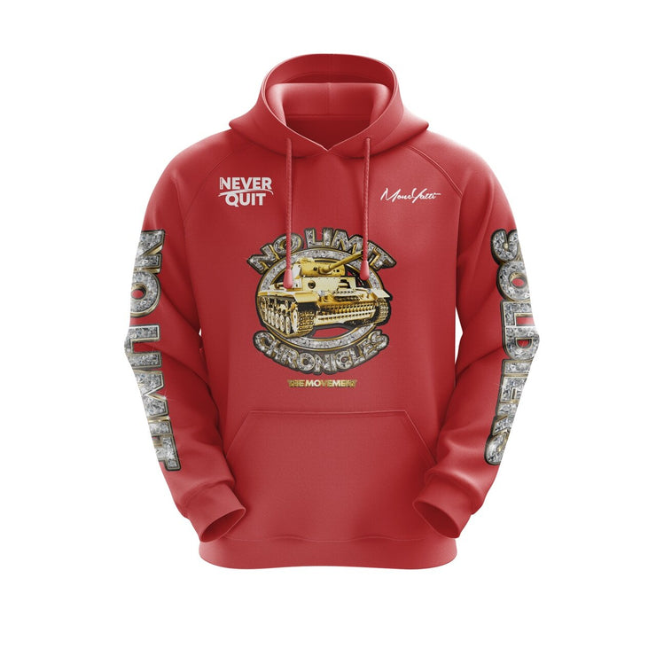 MoneYatti No Limit Chronicles  Red Hoodie
