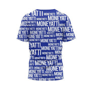 MoneYatti All over print royal T-Shirt