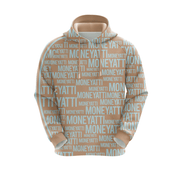 MoneYatti All Over Print Crystal rebel Women's Hoodie
