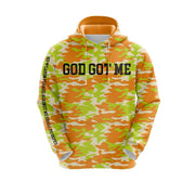 MoneYatti God Got Me Neon Green Hoodie
