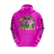 MoneYatti Limited Edition Ice Cream Hustle Pink Hoodie