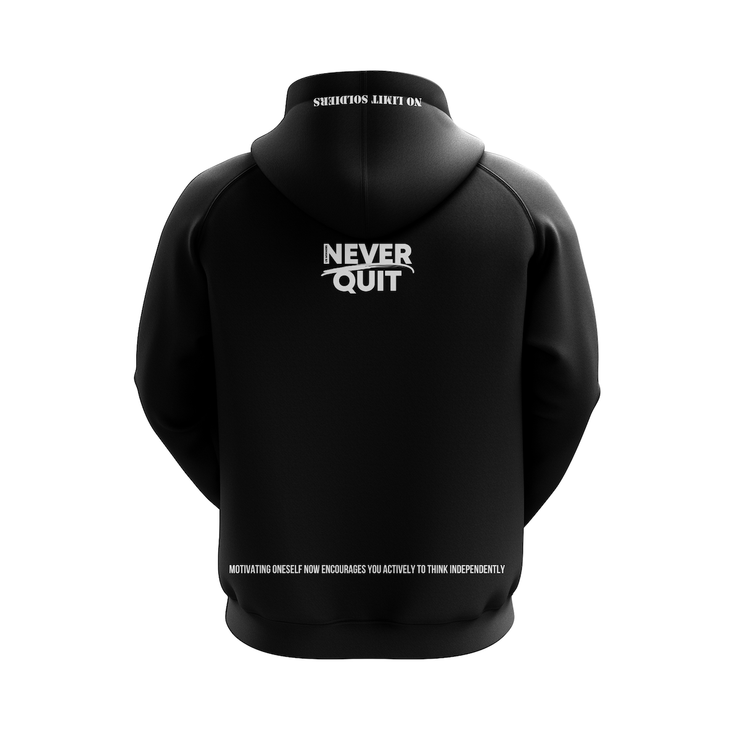 MoneYatti No Limit Records Black Classic Platinum Hoodie