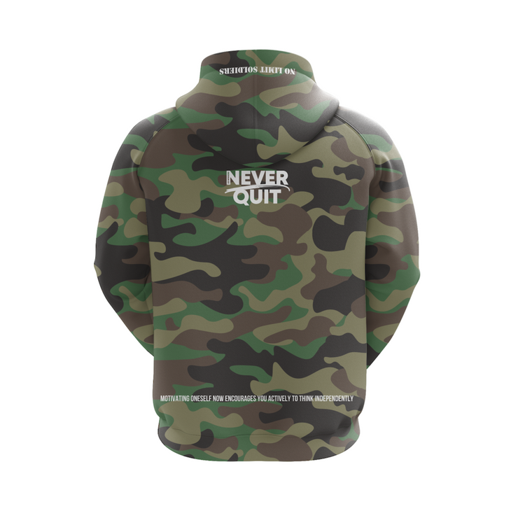 MoneYatti No Limit Records Black Classic Platinum Camo Hoodie