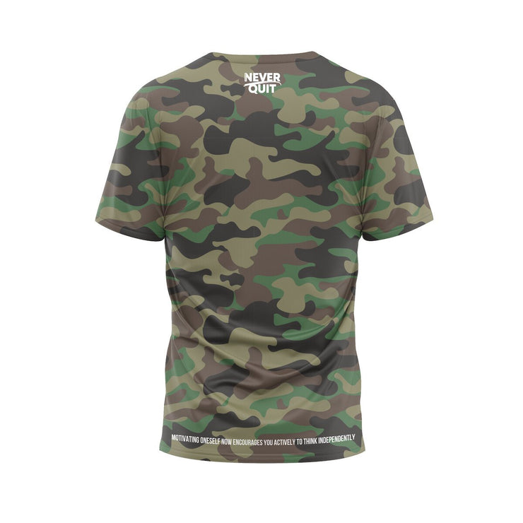 MoneYatti No Limit Records Classic Camo T-shirt